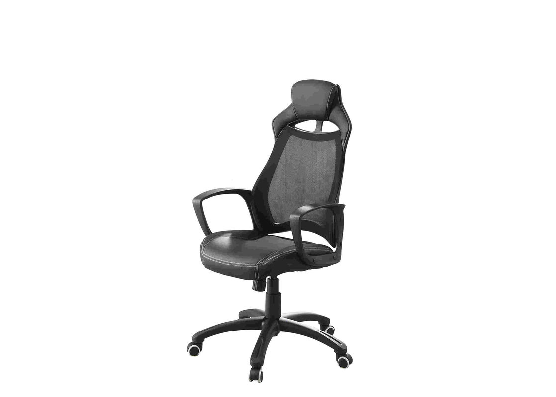 RoHS Mesh Cushioned Office Chair Adjustable Seat Height For Comfortable Work