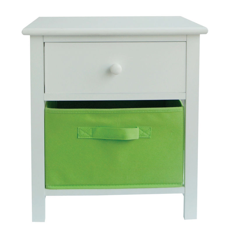 Bedroom Nightstands Home Storage Shelves For Daily Articles / Books / Socks