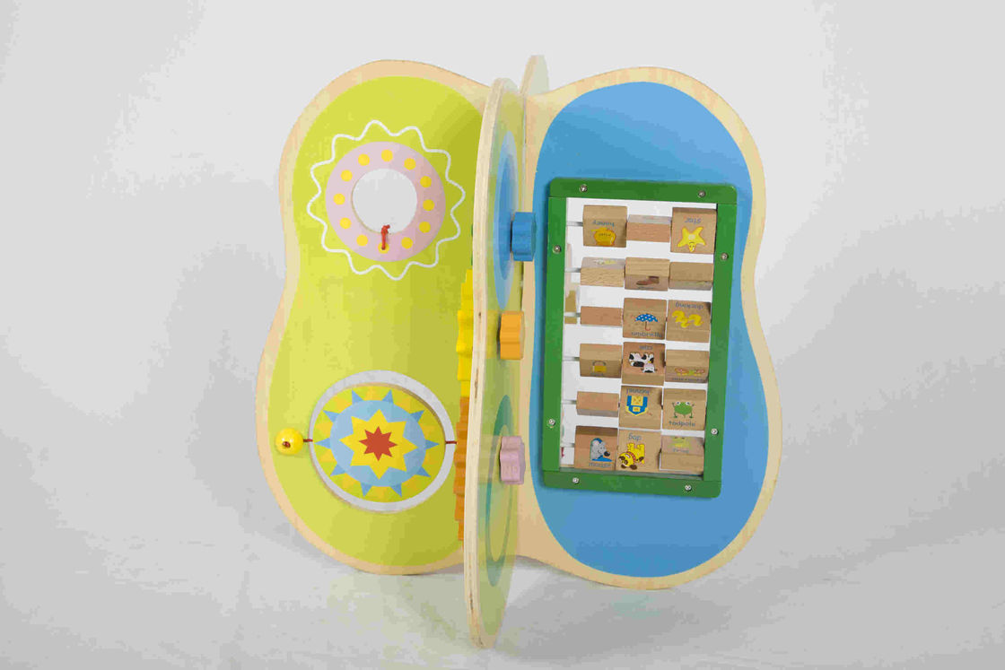 Preschool Educational DIY Toddler Wooden Toys With Harmless Hardwood / Plywood